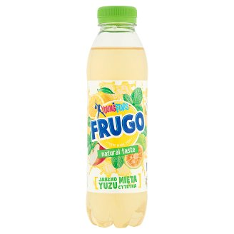 Frugo Young Stars Apple Mint Yuzu Lemon Flavour Non Carbonated Drink 500 ml