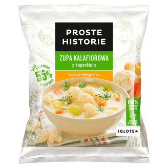 Proste Historie Cauliflower Soup with Dill 450 g
