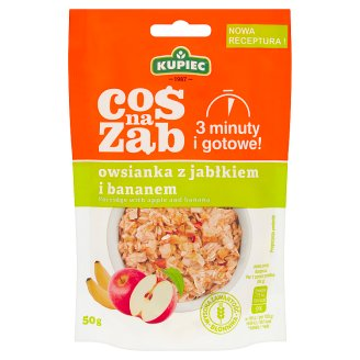Kupiec Coś na ząb Apple and Banana Porridge 50 g