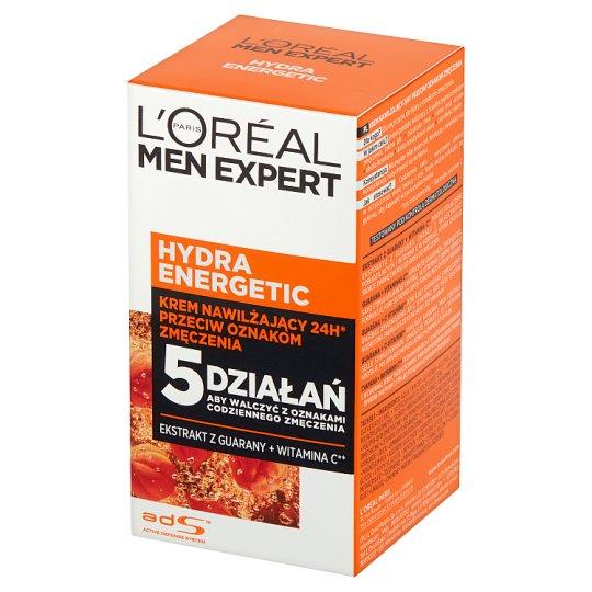 L'Oreal Paris Men Expert Hydra Energetic Moisturizing Cream Against Signs of Fatigue 50 ml