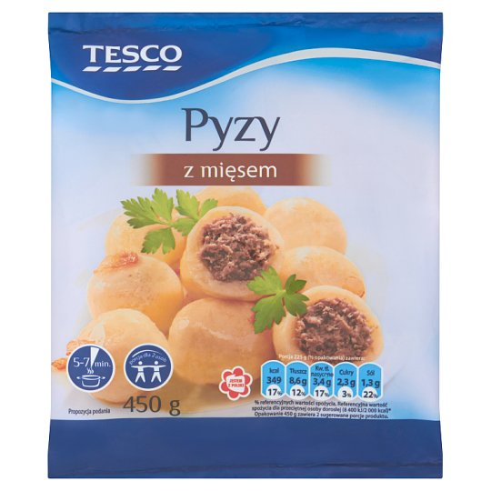 Tesco Potato Dumplings with Meat 450 g
