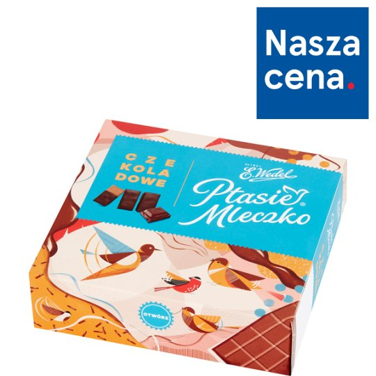 E. Wedel Ptasie Mleczko Chocolate Marshmallow 380 g
