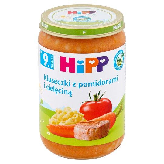 HiPP BIO Kluseczki z pomidorami i cielęciną po 11. miesiącu 220 g