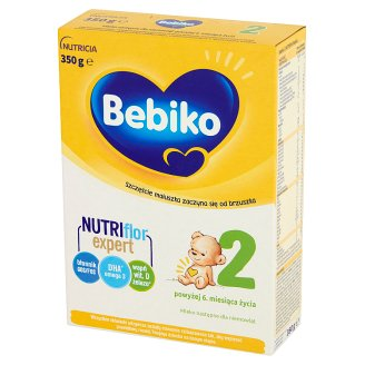 Bebiko 2 Powdered Milk for Newborns after 6. Months Onwards 350 g