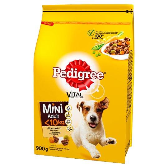 Pedigree Vital Protection Mini Adult <10 kg Karma z kurczakiem i warzywami 900 g