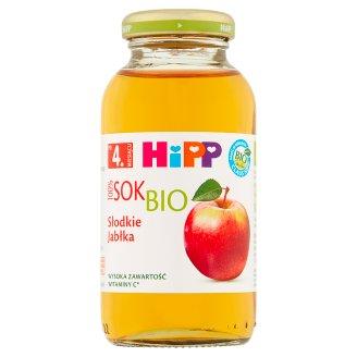 HiPP BIO Słodkie jabłka Sok Bio 100% po 4. miesiącu 0,2 l