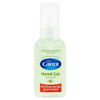 Carex Aloe Vera Antibacterial Hand Gel 50 ml