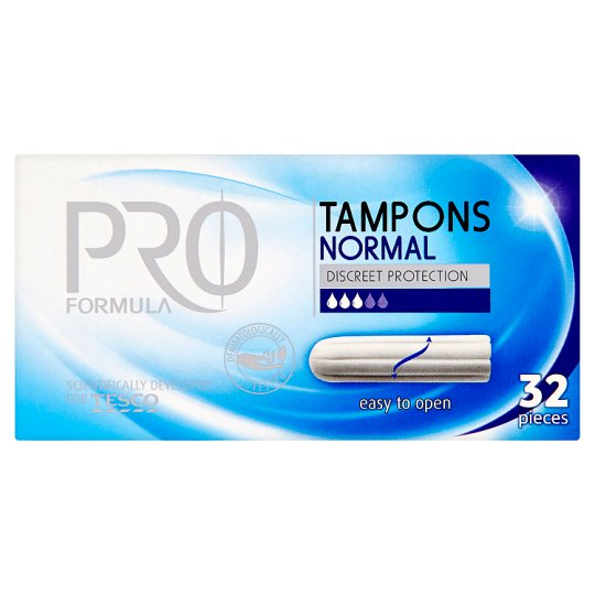 Tesco Pro Formula Normal Tampons 32 Pieces