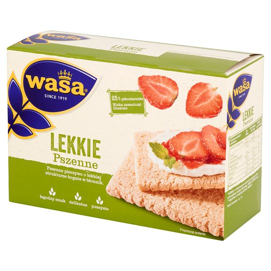 Wasa Crisp'n Light Wheat Bread 140 g
