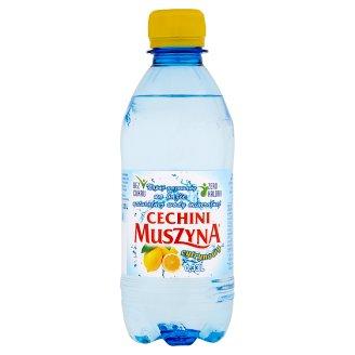 Muszyna Cechini Napój gazowany na bazie naturalnej wody mineralnej cytrynowy 0,33 l