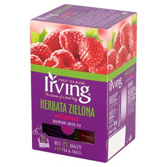 Irving Raspberry Green Tea 30 g (20 Tea Bags)