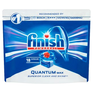 Finish Quantum Max Dishwasher Detergent in Capsules 279 g (18 Pieces)