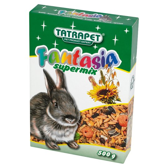 Tatrapet Fantasia Supermix Complete Feed for Rabbits 500 g