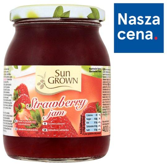 Sun Grown Dżem truskawkowy niskosłodzony 400 g