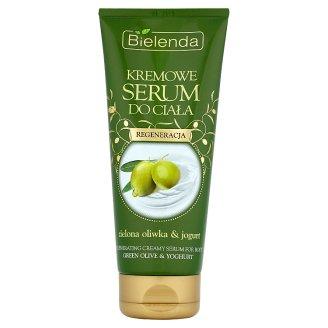 Bielenda Kremowe serum do ciała regeneracja zielona oliwka i jogurt 200 ml