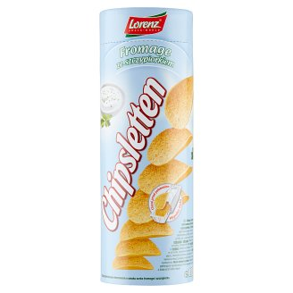 Chipsletten Formed Potato Crisps with Fromage and Chive Flavour 100 g