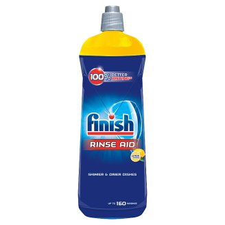 Finish Lemon Dishwasher Rinse Aid 800 ml
