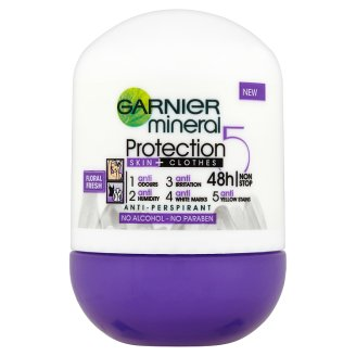 Garnier Mineral Protection 5 Floral Fresh Anti-Perspirant 50 ml