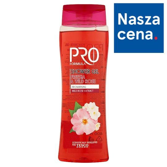 Tesco Pro Formula Żel pod prysznic Freesia & Wild Rose 400 ml
