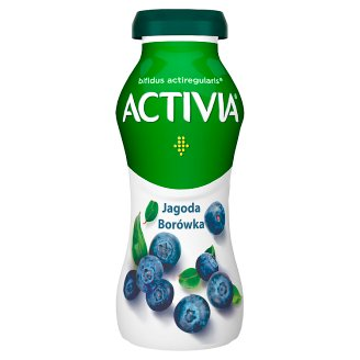 Danone Activia Blueberry and American Berry Yoghurt 195 g