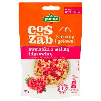 Kupiec Coś na ząb Raspberry and Cranberry Porridge 50 g