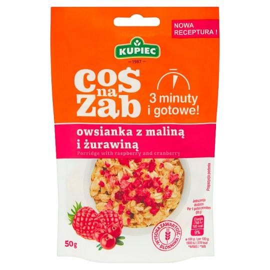 Kupiec Coś na ząb Porridge with Raspberry and Cranberry 50 g