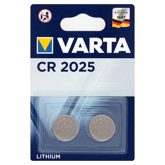 Varta CR2025 3 V Bateria litowa 2 sztuki
