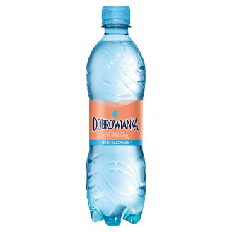 Dobrowianka Light Sparkling Natural Mineral Water 500 ml