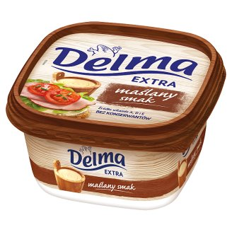 Delma Extra Butter Flovoured Margarine 450 g