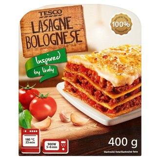 Tesco Lasagne Bolognese 400 g