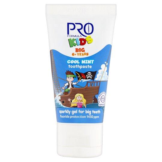 Tesco Pro Formula Kids Cool Mint Toothpaste 6+ Years 50 ml