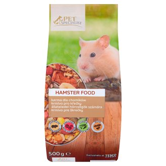 Tesco Pet Specialist Hamster Food 500 g