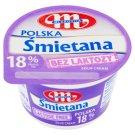 Mlekovita Śmietana Polska bez laktozy 18% 200 g