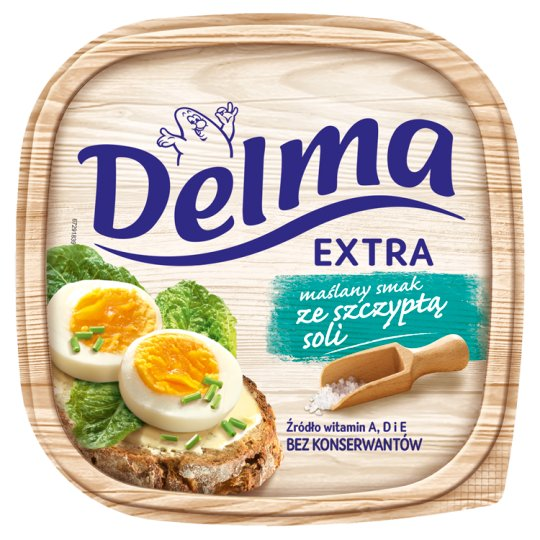 Delma Extra Margarine with Butter and Pinch of Salt 450 g