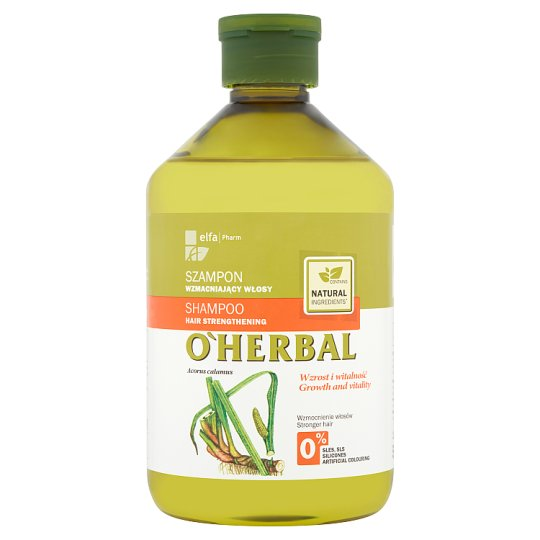 O'Herbal Shampoo Hair Strengthening with Calamus Root Extract 500 ml