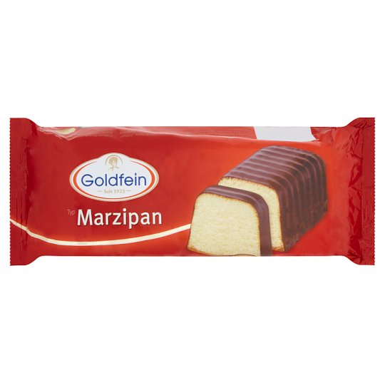 Goldfein Marzipan Cake with Chocolate Flavoured Coating 400 g