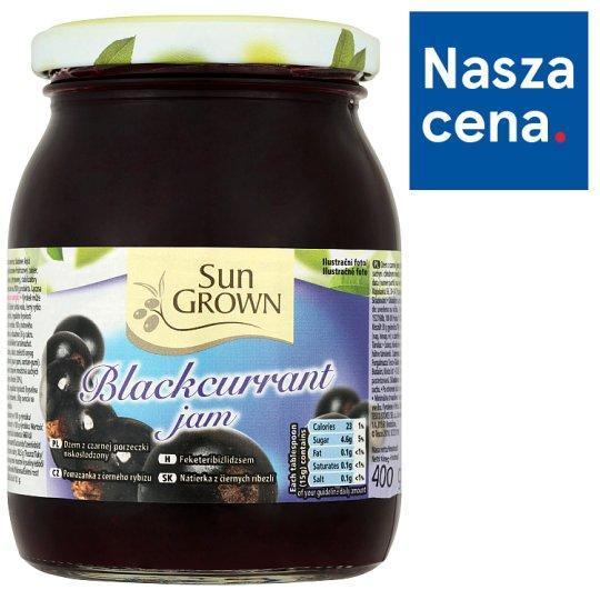 Sun Grown Dżem z czarnej porzeczki niskosłodzony 400 g