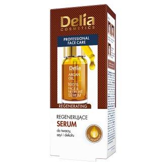 Delia Cosmetics Regenerujące serum do twarzy szyi i dekoltu 10 ml