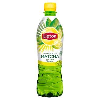 Lipton Ice Tea Green Matcha yuzu lime Napój niegazowany 500 ml