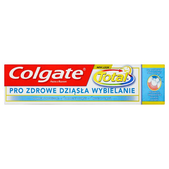 Colgate Total Pro Zdrowe dziąsła wybielanie Pasta z fluorem 75 ml