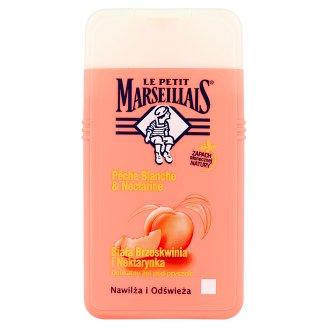 Le Petit Marseillais Biała Brzoskwinia i Nektarynka Delikatny żel pod prysznic 250 ml