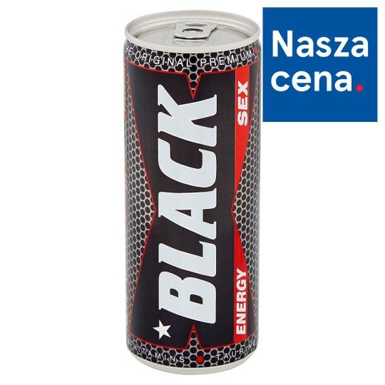 Black Sex Energy Gazowany napój energetyzujący 250 ml