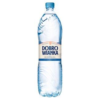 Dobrowianka Naturalna woda mineralna lekko gazowana 1,5 l