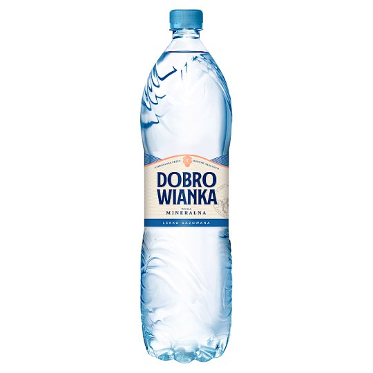 Dobrowianka Light Sparkling Natural Mineral Water 1.5 L