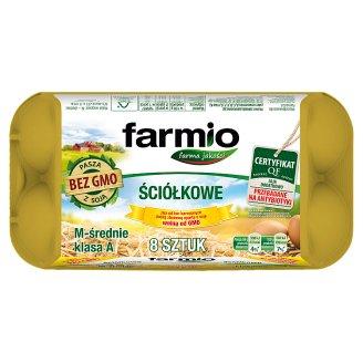 Farmio GMO-Free Barn Eggs M 8 Pieces