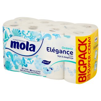 Mola Elégance Sea Breeze Toilet Paper 16 Rolls