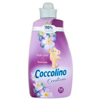 Coccolino Creations Purple Orchid & Blueberries Płyn do płukania koncentrat 1900 ml (54 prania)