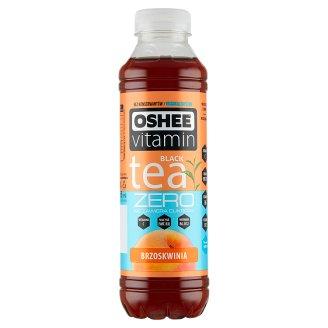 Oshee Vitamin Tea Zero Niegazowany napój herbaciany o smaku brzoskwiniowym 555 ml