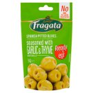 Fragata Spanish Pitted Olives with Garlic Thyme and Olive Oil 70 g