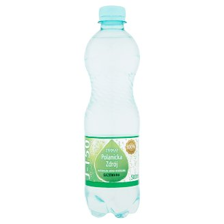 Tesco Polanicka Zdrój Sparkling Natural Mineral Water 500 ml